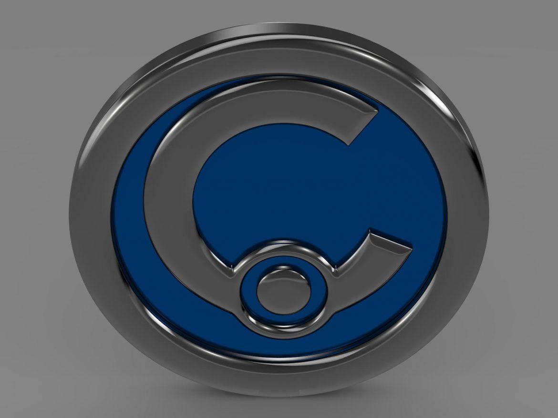 casalini logo 3d model 3ds max fbx c4d lwo ma mb hrc xsi obj 208239