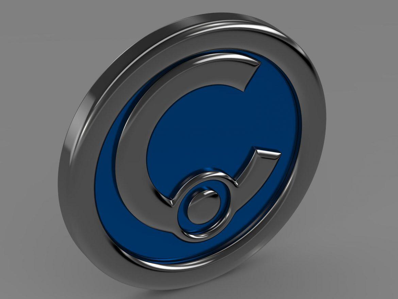 casalini logo 3d model 3ds max fbx c4d lwo ma mb hrc xsi obj 208240