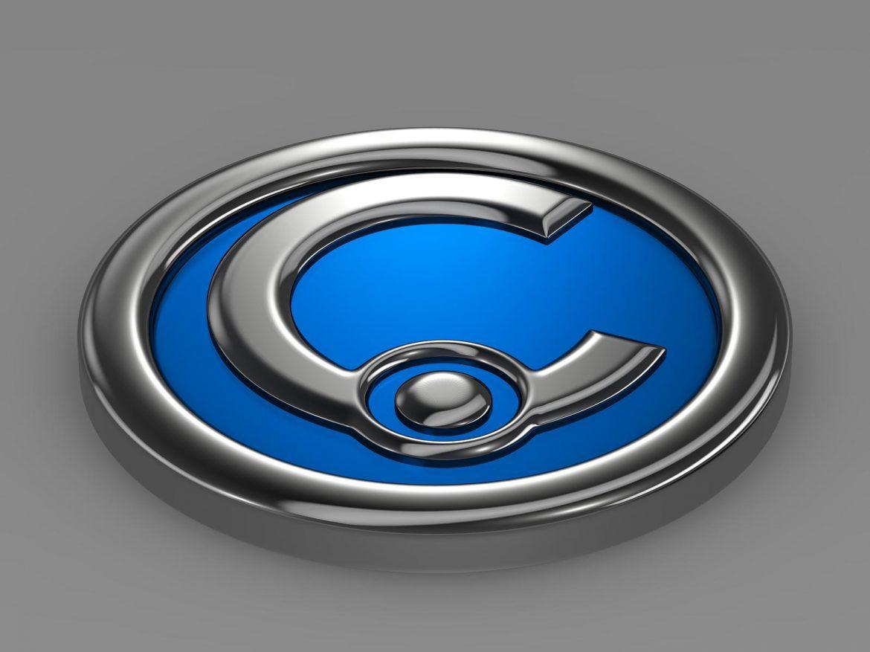 casalini logo 3d model 3ds max fbx c4d lwo ma mb hrc xsi obj 208241