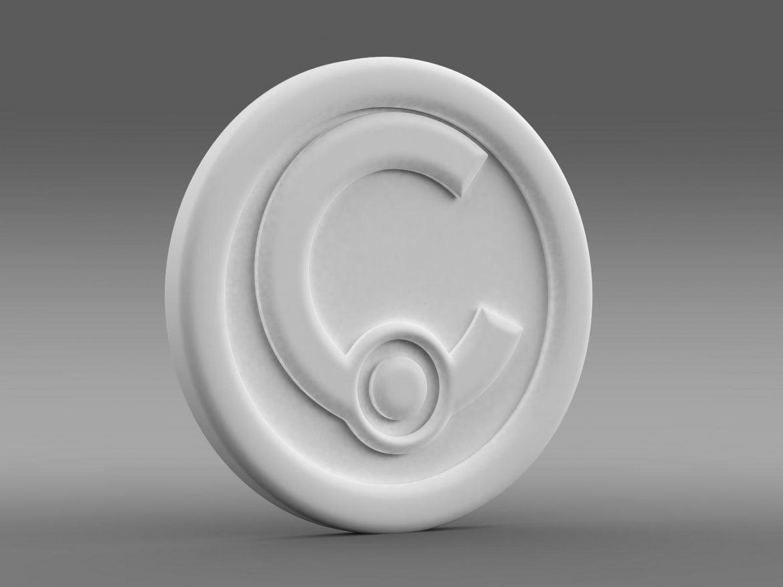 casalini logo 3d model 3ds max fbx c4d lwo ma mb hrc xsi obj 208245