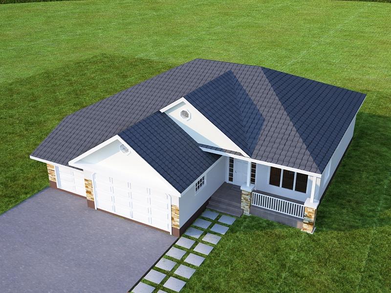 House 3d model 0