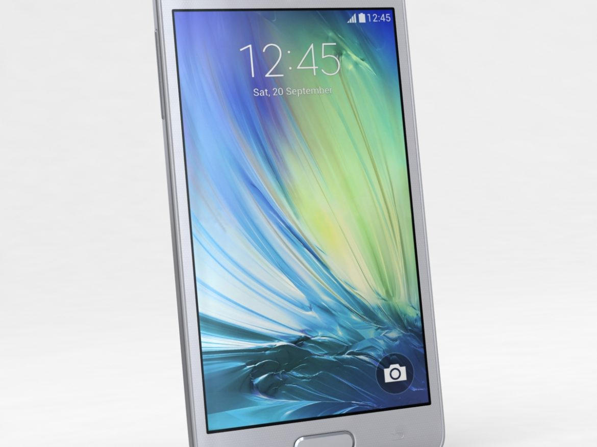 Samsung Galaxy A3 and A3 Duos Silver ( 522.57KB jpg by NoNgon )