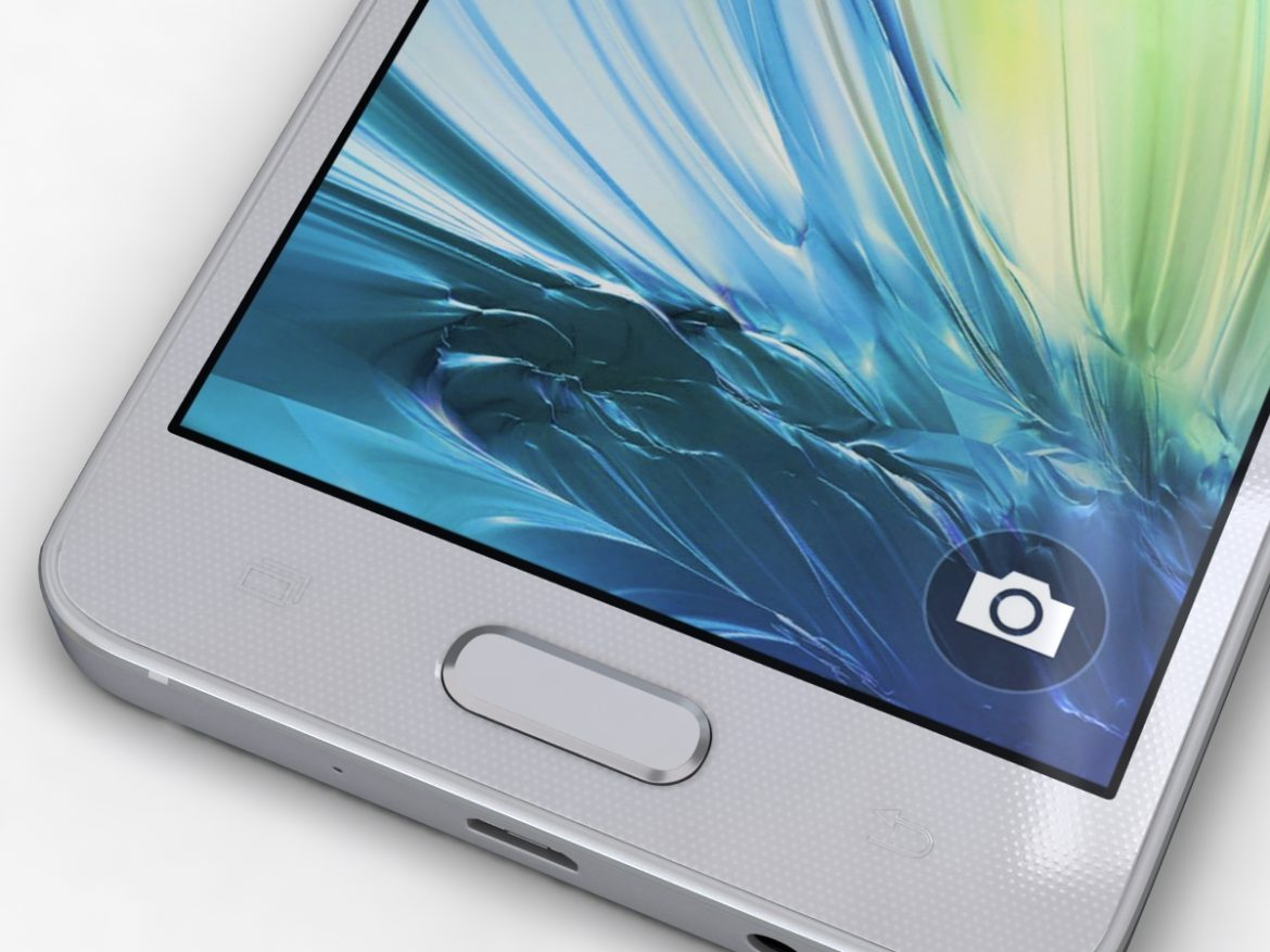 Samsung Galaxy A3 and A3 Duos Silver ( 671.61KB jpg by NoNgon )