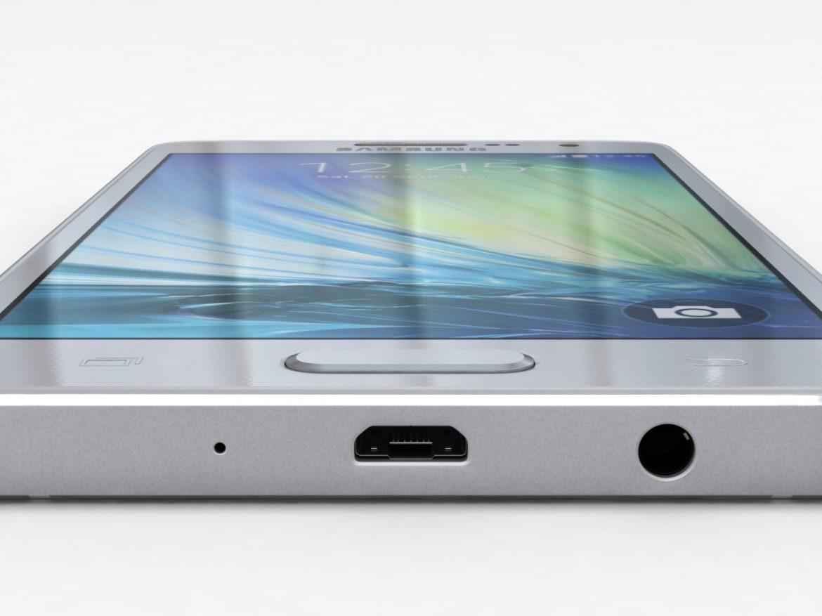 Samsung Galaxy A3 and A3 Duos Silver ( 469.21KB jpg by NoNgon )
