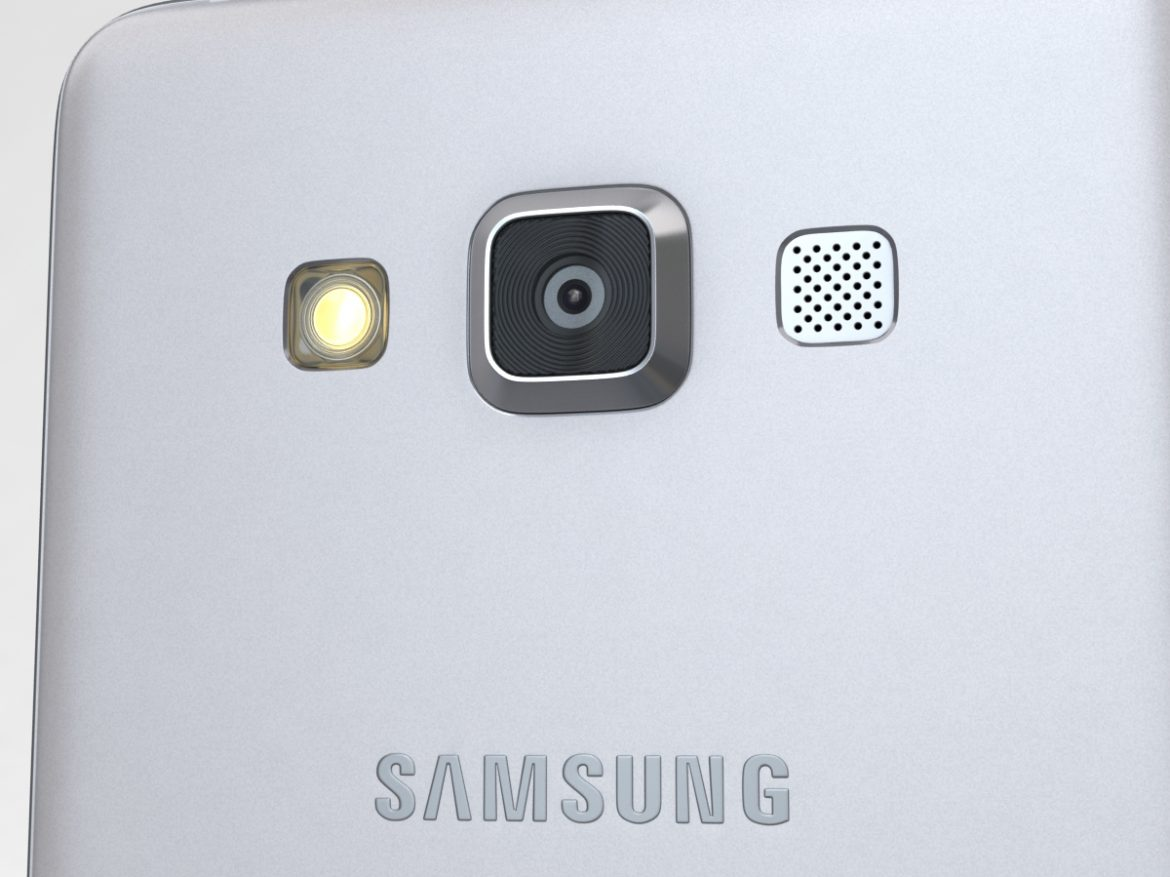 Samsung Galaxy A3 and A3 Duos Silver ( 687.7KB jpg by NoNgon )