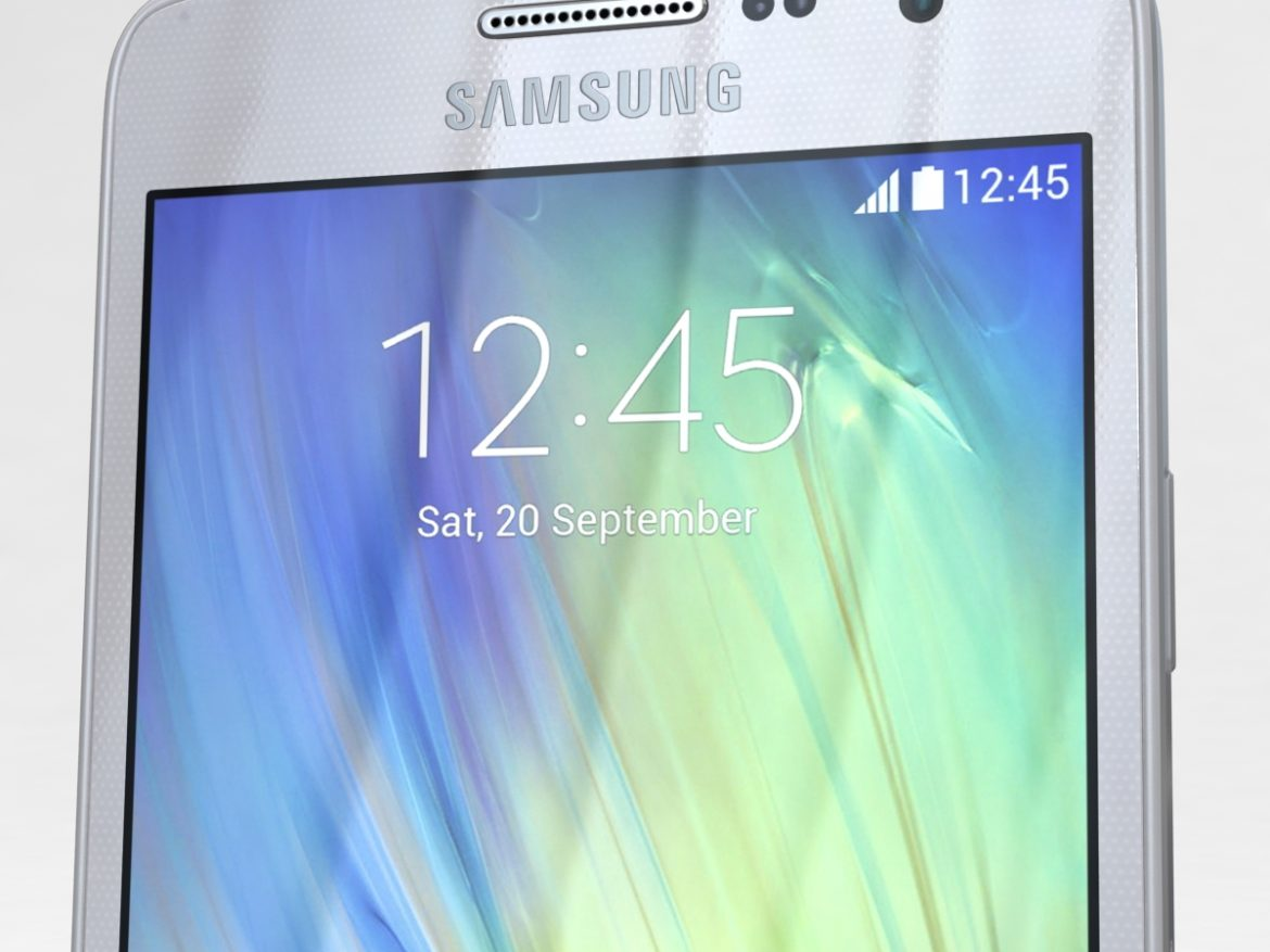 Samsung Galaxy A3 and A3 Duos Silver ( 604.93KB jpg by NoNgon )