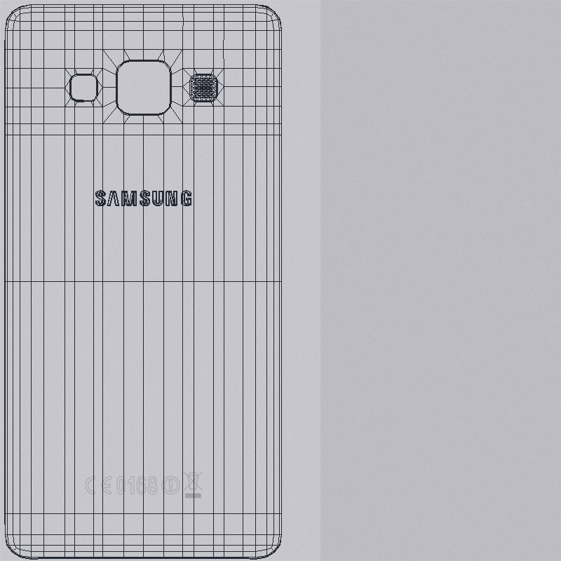 samsung galaxy a3 and a3 duos silver 3d model 3ds max fbx c4d obj 208324