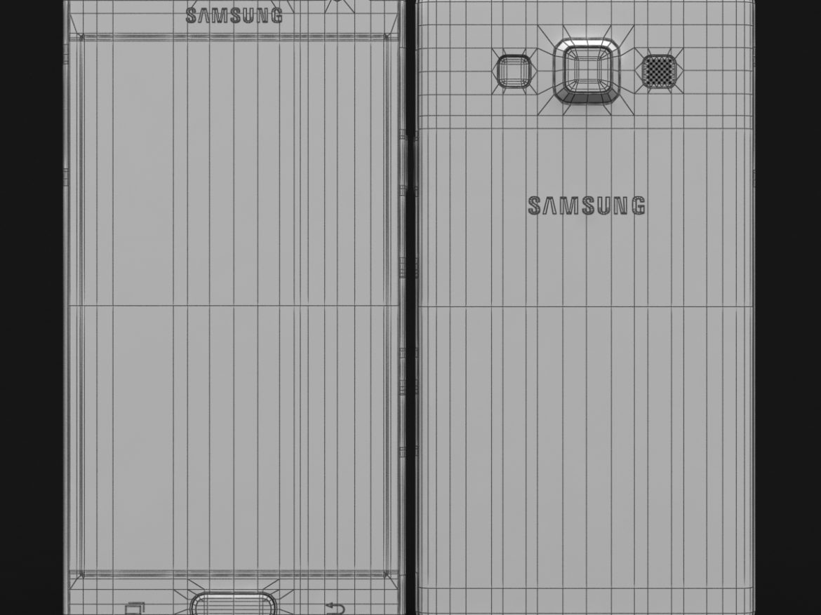 Samsung Galaxy A3 and A3 Duos Silver ( 470.25KB jpg by NoNgon )