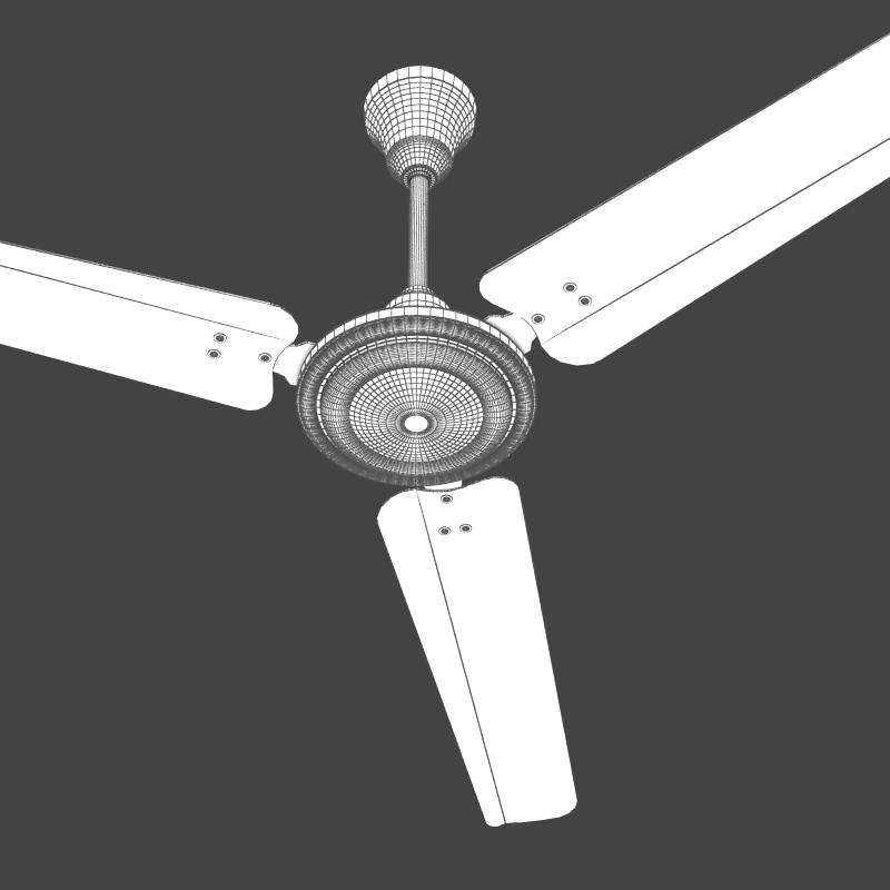 stropni ventilator 2 3d model 3ds max fbx lwo obj 208339