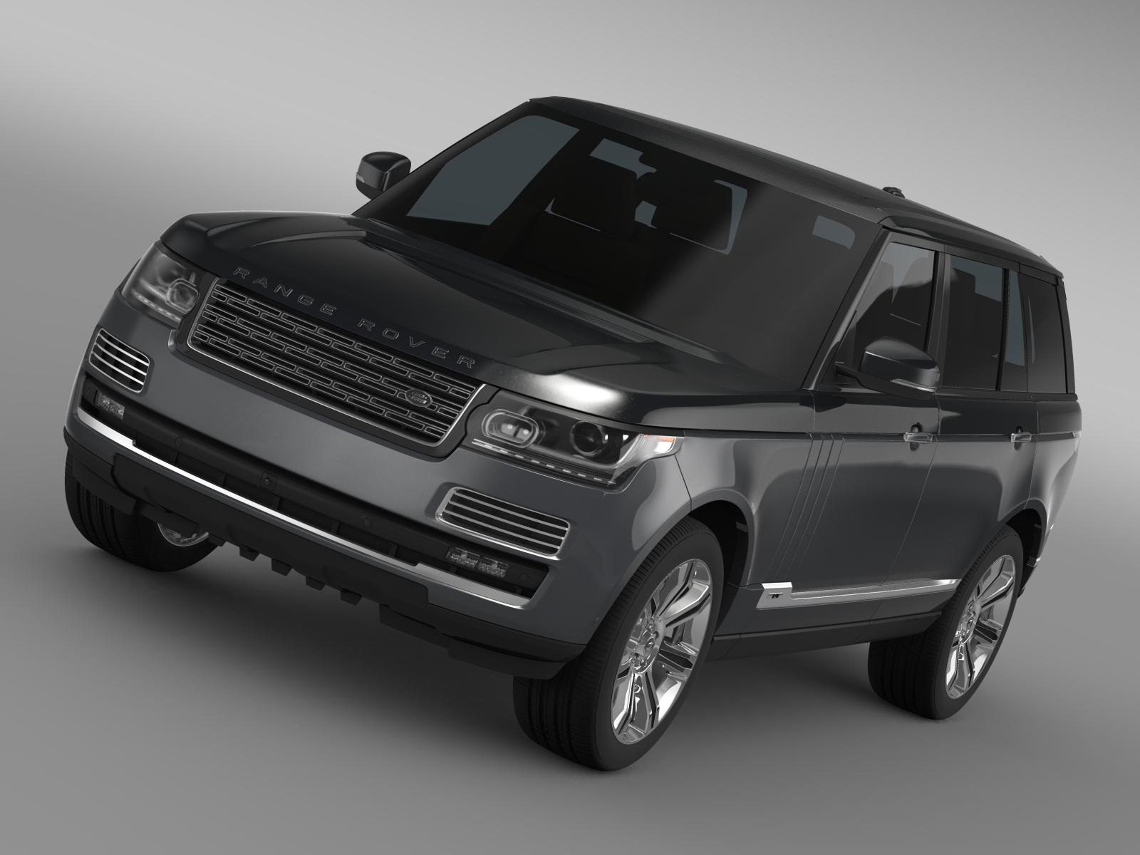 range rover svautobiography l405 2016 3d model. Black Bedroom Furniture Sets. Home Design Ideas