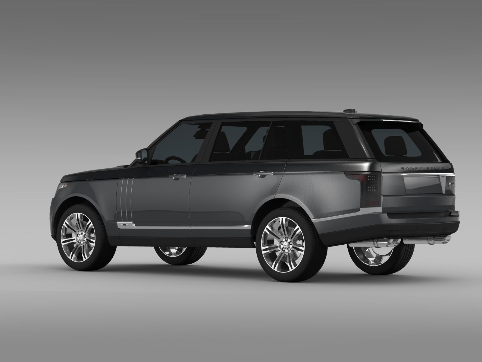 range rover svautobiography l405 2016 3d model buy range rover svautobiography l405 2016 3d. Black Bedroom Furniture Sets. Home Design Ideas