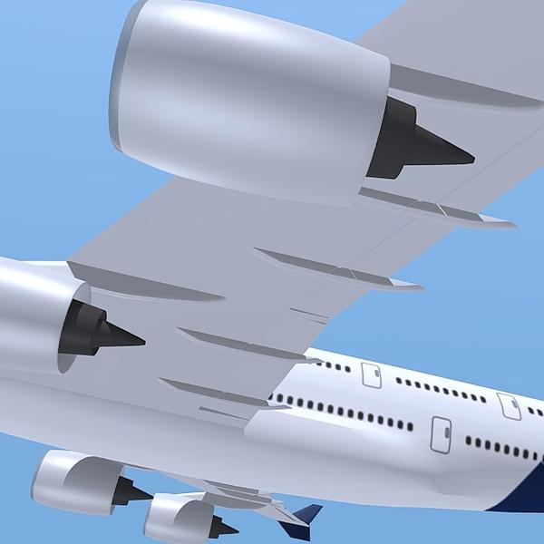 Airbus A380 giant airplane enhanced ( 136.06KB jpg by futurex3d )