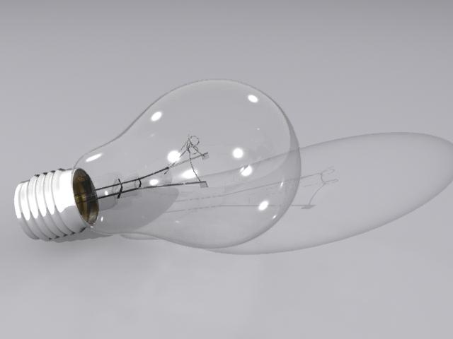 lamp bulb 3d model max fbx obj 208501