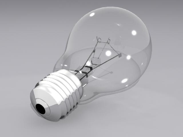 lamp bulb 3d model max fbx obj 208502