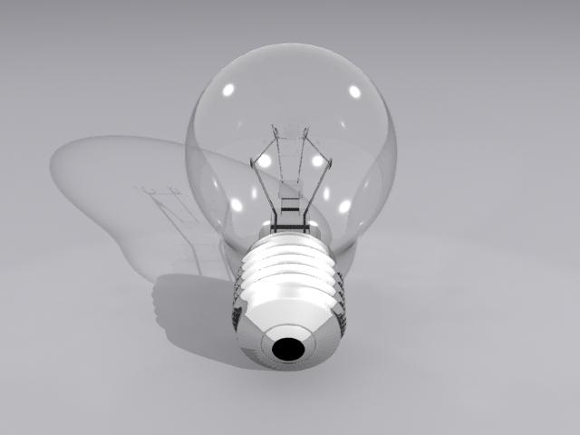 lamp bulb 3d model max fbx obj 208504