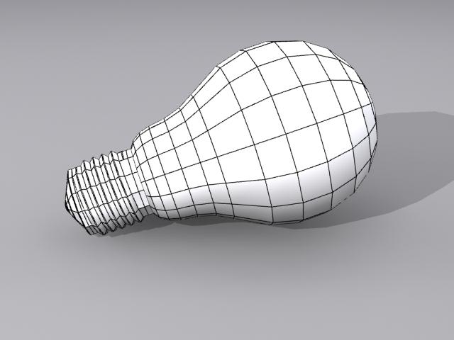 lamp bulb 3d model max fbx obj 208505