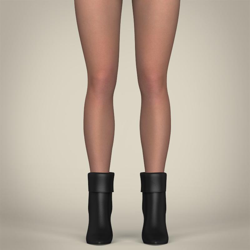 realistic beautiful sexy girl 3d model 3ds max fbx c4d lwo ma mb texture obj 208511