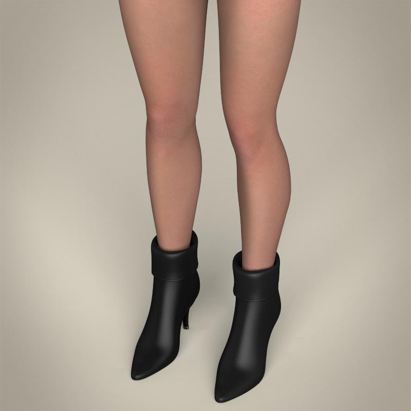 realistic beautiful sexy girl 3d model 3ds max fbx c4d lwo ma mb texture obj 208512
