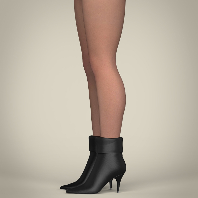 realistic beautiful sexy girl 3d model 3ds max fbx c4d lwo ma mb texture obj 208513