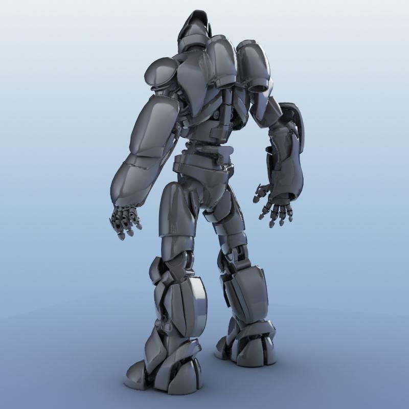 robot 01 3d model 3ds max fbx obj 208646