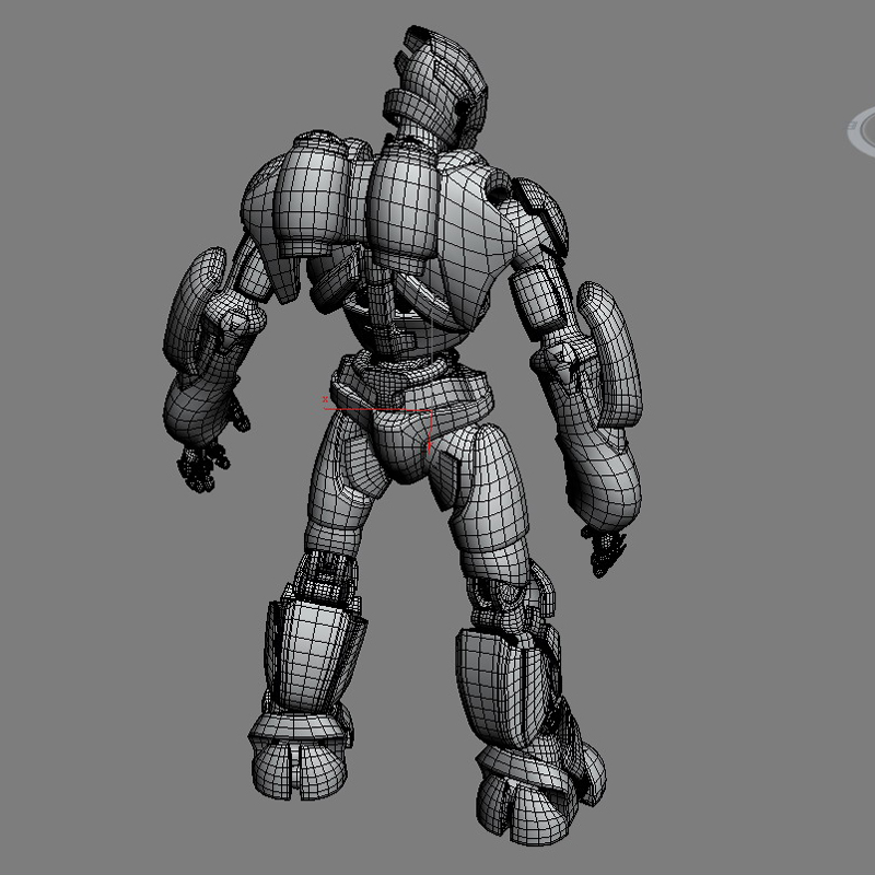 robot 01 3d model 3ds max fbx obj 208651
