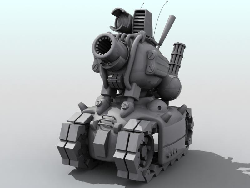 tanc gwlithen fetel model 3d 3ds max fbx obj 208706