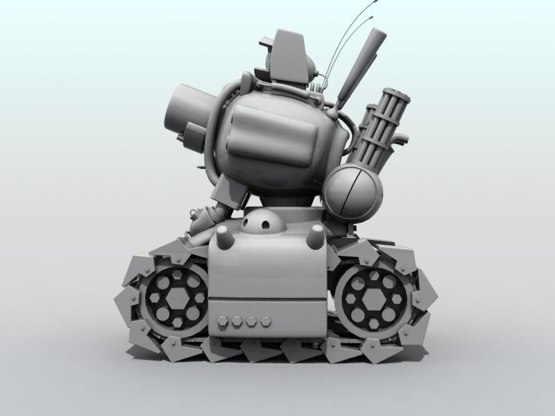 tanc gwlithen fetel model 3d 3ds max fbx obj 208707