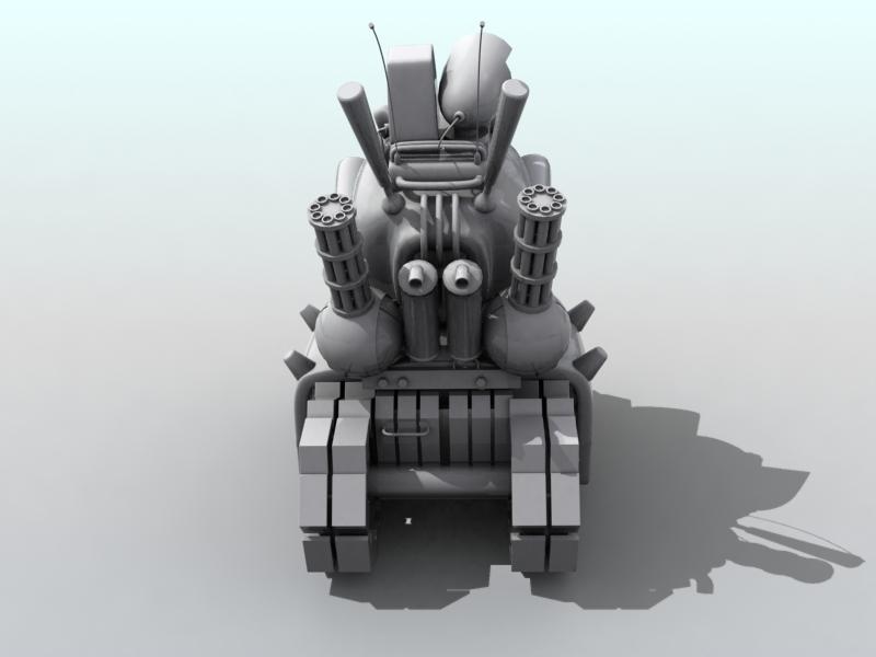 tanc gwlithen fetel model 3d 3ds max fbx obj 208708