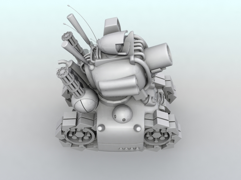 tanc gwlithen fetel model 3d 3ds max fbx obj 208710