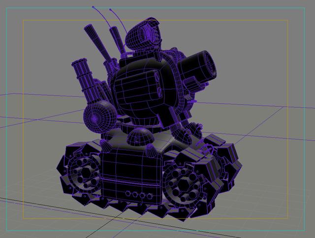 tanc gwlithen fetel model 3d 3ds max fbx obj 208711