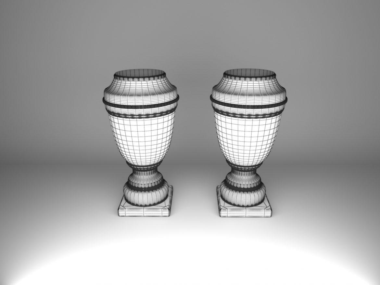 vase ahura arcade 3d model max obj 208718