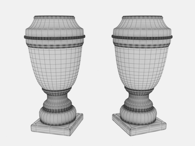 vase ahura arcade 3d model max obj 208719
