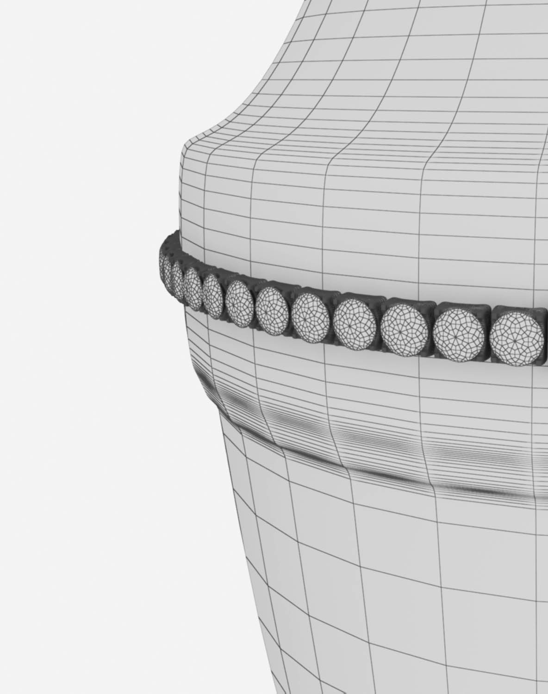 vase ahura arcade 3d model max obj 208720