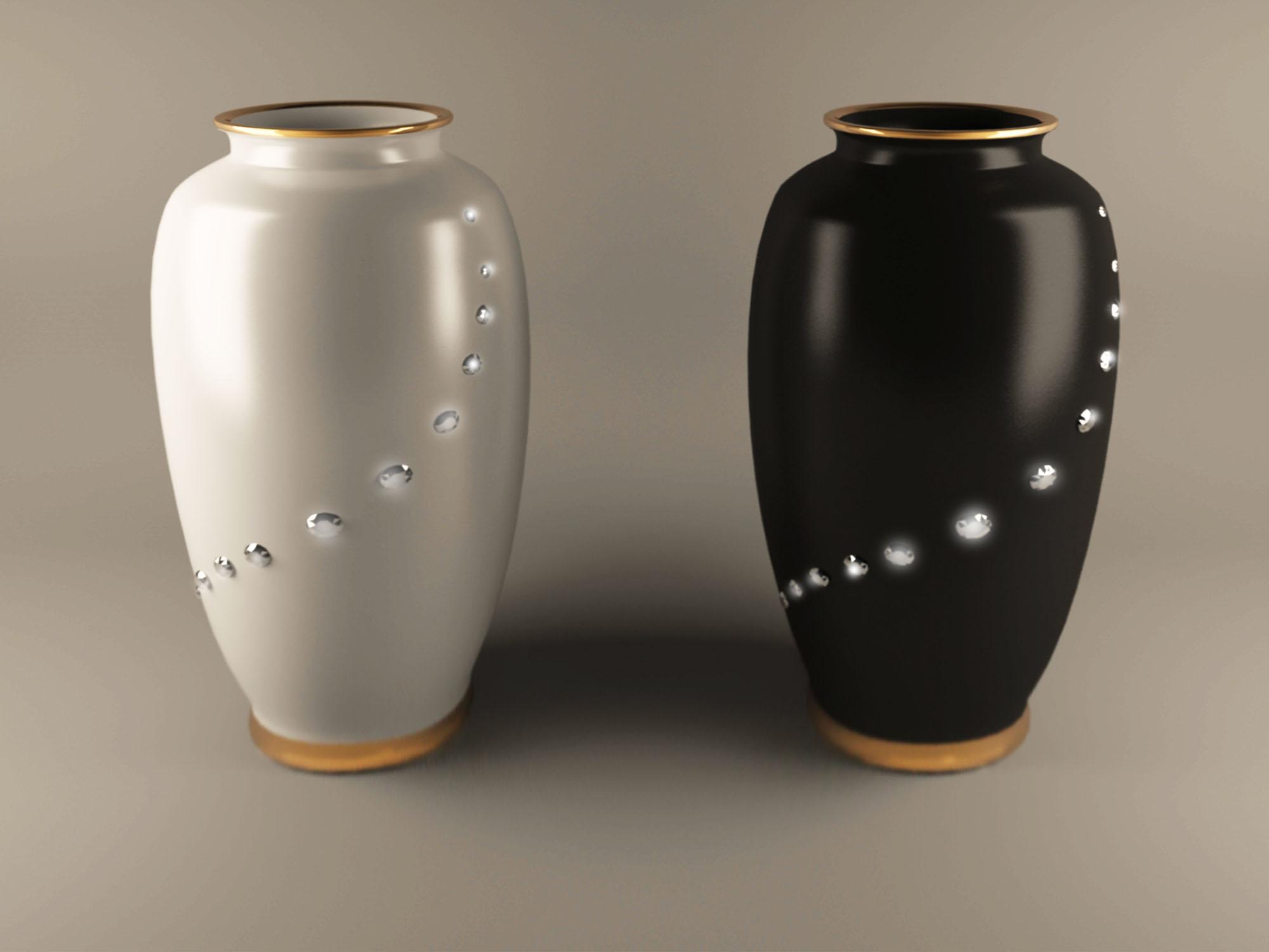 вазна Ханчжоу 3d модел макс obj 208743