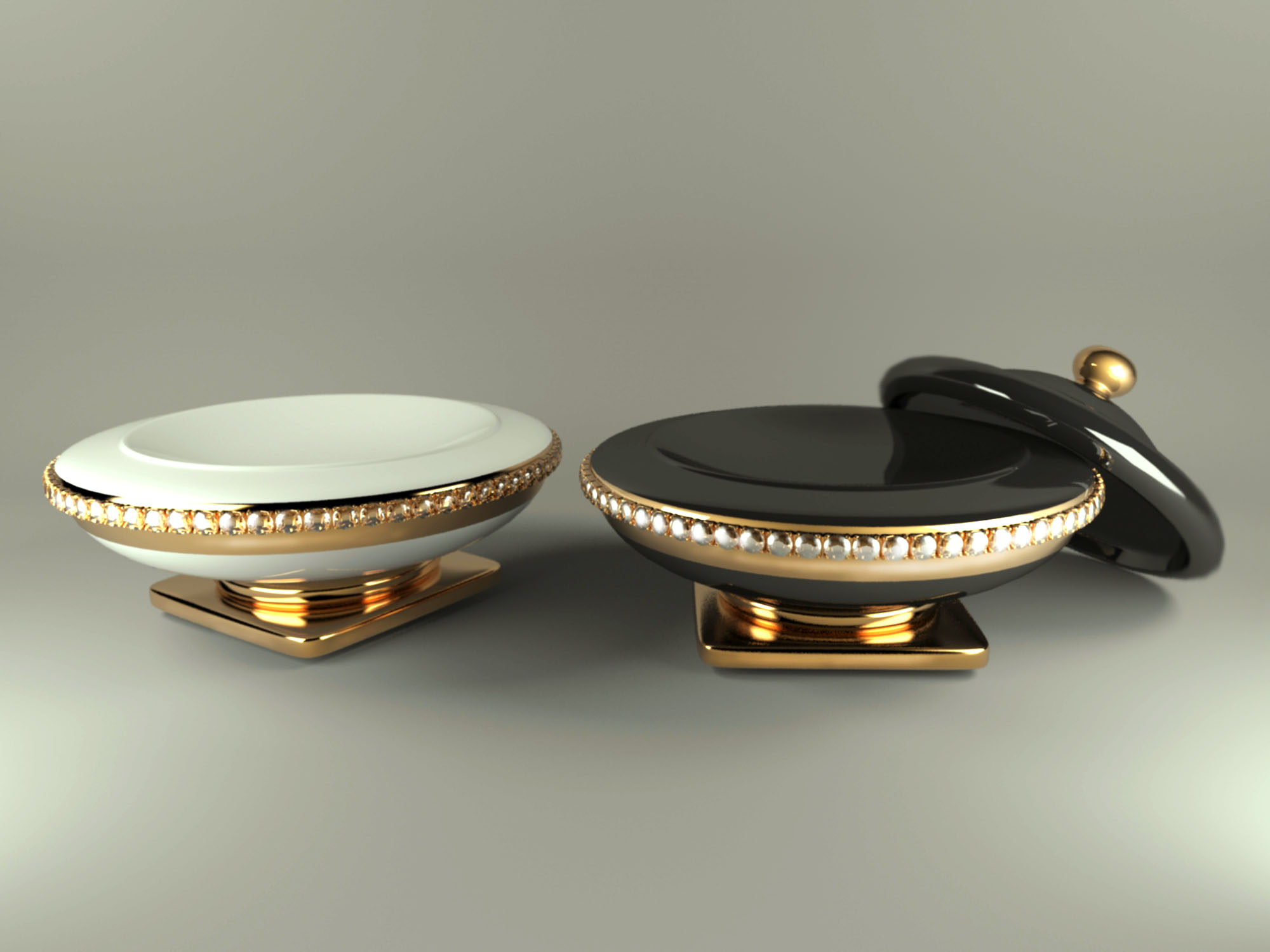 jewelry box ahura arcade 3d model max obj 208761