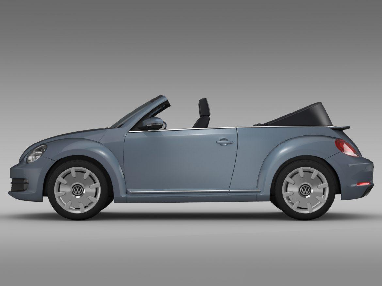 vw beetle cabriolet denim concept 2015 3d model 3ds max fbx c4d lwo ma mb hrc xsi obj 208771