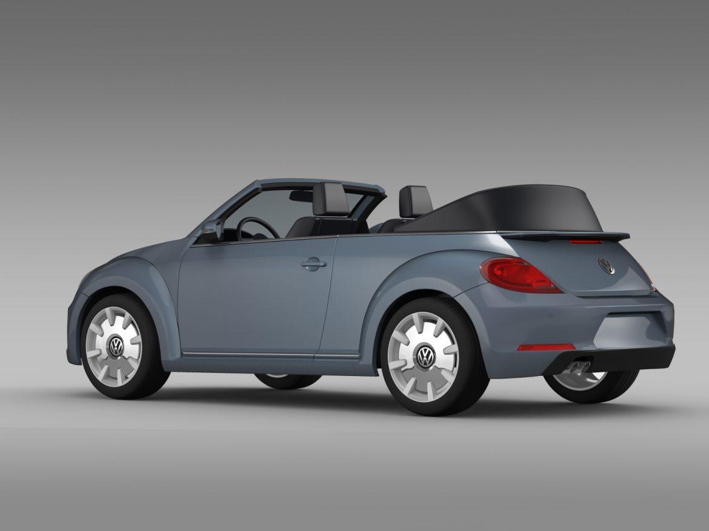 vw beetle cabriolet denim concept 2015 3d model 3ds max fbx c4d lwo ma mb hrc xsi obj 208772