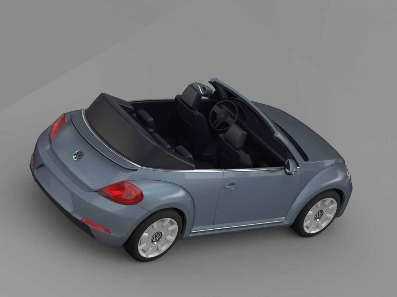 vw beetle cabriolet denim concept 2015 3d model 3ds max fbx c4d lwo ma mb hrc xsi obj 208775