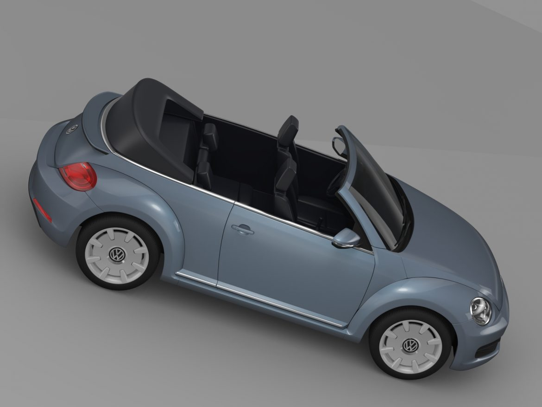 vw beetle cabriolet denim concept 2015 3d model 3ds max fbx c4d lwo ma mb hrc xsi obj 208777