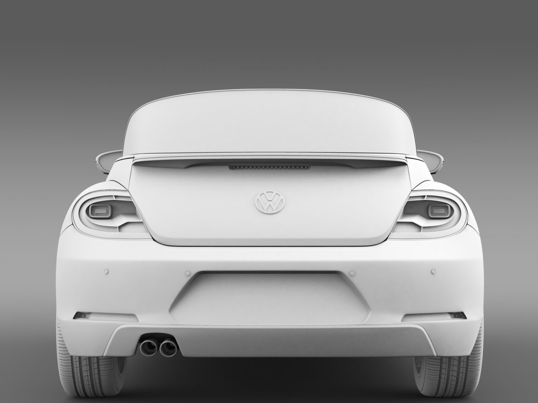 vw beetle cabriolet denim concept 2015 3d model 3ds max fbx c4d lwo ma mb hrc xsi obj 208779