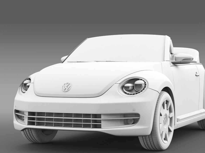 vw beetle cabriolet denim concept 2015 3d model 3ds max fbx c4d lwo ma mb hrc xsi obj 208780