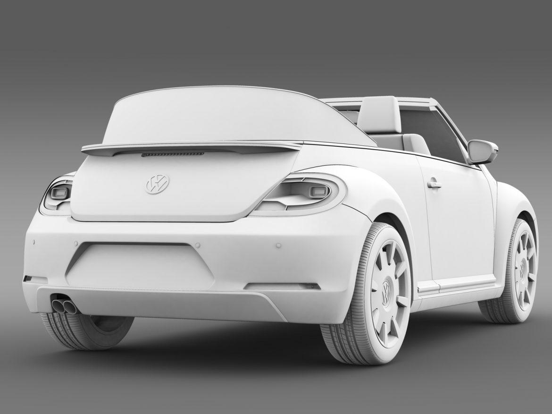vw beetle cabriolet denim concept 2015 3d model 3ds max fbx c4d lwo ma mb hrc xsi obj 208781