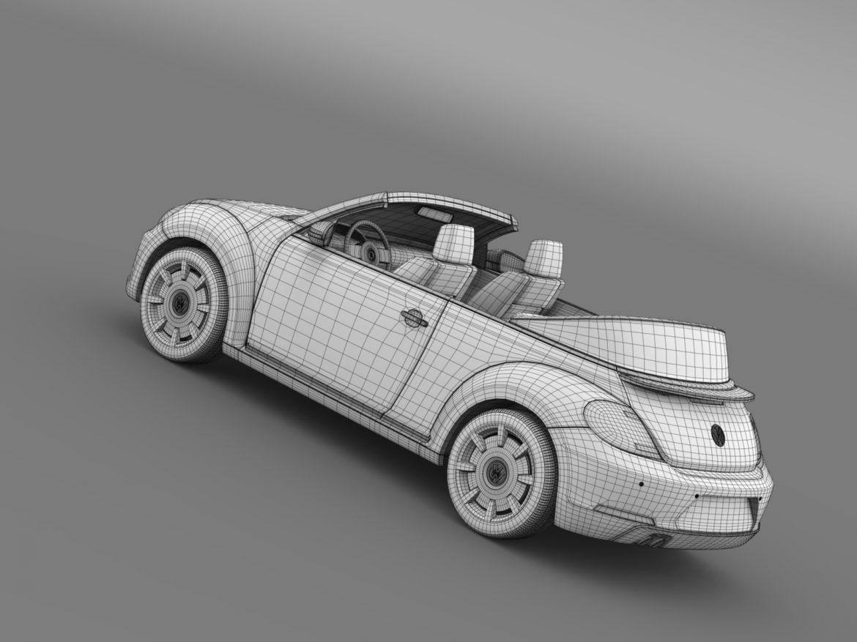 vw beetle cabriolet denim concept 2015 3d model 3ds max fbx c4d lwo ma mb hrc xsi obj 208784