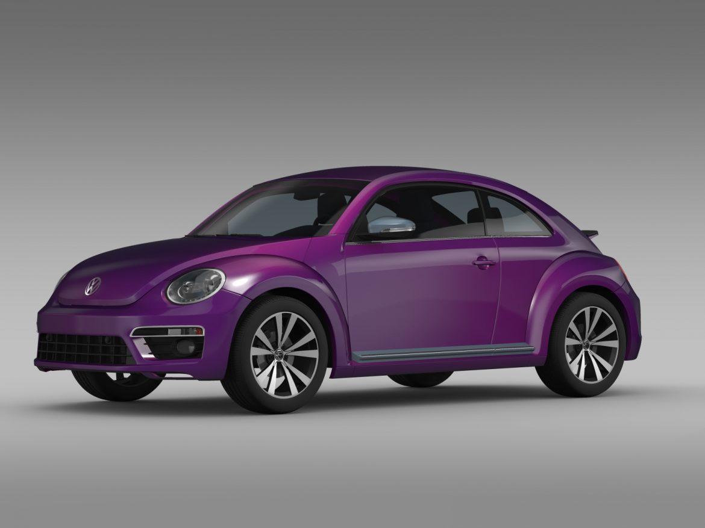vw beetle pink edition concept 2015 3d model 3ds max fbx c4d lwo ma mb hrc xsi obj 208790