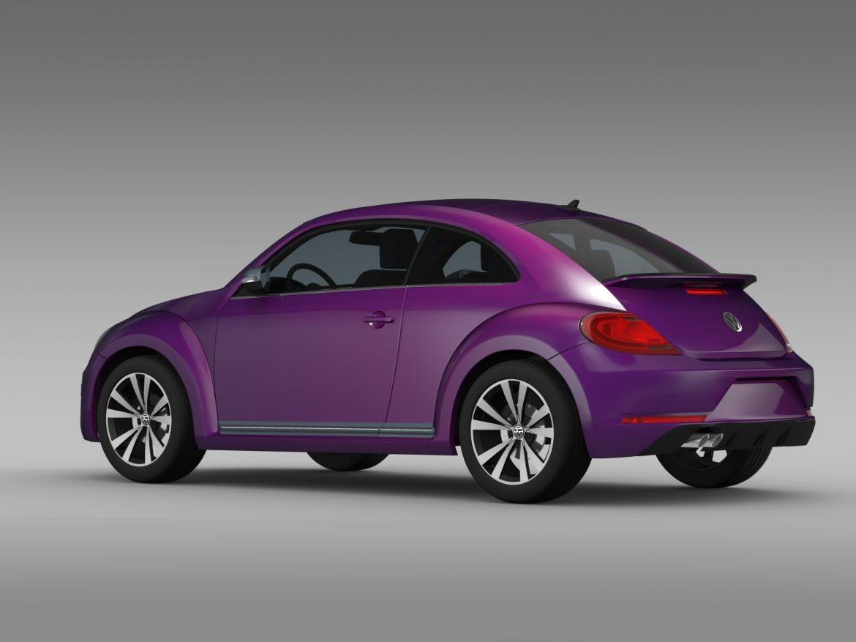 vw beetle pink edition concept 2015 3d model 3ds max fbx c4d lwo ma mb hrc xsi obj 208792