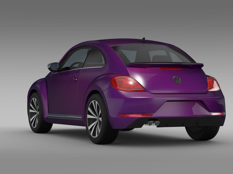 vw beetle pink edition concept 2015 3d model 3ds max fbx c4d lwo ma mb hrc xsi obj 208793