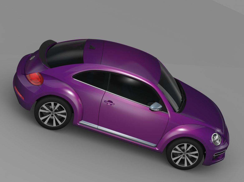 vw beetle pink edition concept 2015 3d model 3ds max fbx c4d lwo ma mb hrc xsi obj 208796