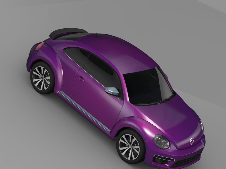 vw beetle pink edition concept 2015 3d model 3ds max fbx c4d lwo ma mb hrc xsi obj 208797