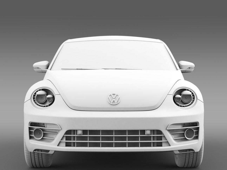 vw beetle pink edition concept 2015 3d model 3ds max fbx c4d lwo ma mb hrc xsi obj 208798