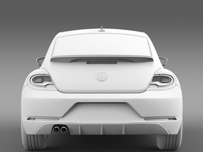vw beetle pink edition concept 2015 3d model 3ds max fbx c4d lwo ma mb hrc xsi obj 208799